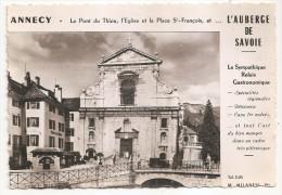 Haute Savoie - 74 - Annecy - L'auberge Relais Gastronomique Place St François - Annecy-le-Vieux