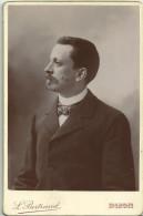 PORTRAIT-BUSTE HOMME    (Photo L. Bertrand - Dijon) - Old (before 1900)