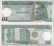 Guatemala - 1 Quetzal 2006 UNC Ukr-OP - Guatemala