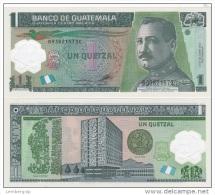 Guatemala - 1 Quetzal 2012 UNC Ukr-OP - Guatemala