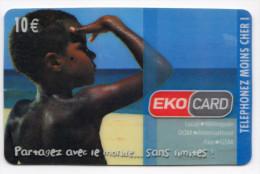 ANTILLES FRANCAISE EKOCARD 10€ Partagez Avec Le Monde Sans Limites - Antilles (French)