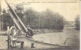 FRANCE  --  CPA  --  Guerre De 1914  --- Canons Allemands Contre Aéroplanes Et Dirigeables - Sonstige