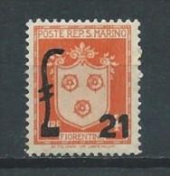 Saint- Marin  - 1947 - Y&T 289 - Neuf ** - Unused Stamps