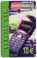 ANTILLES FRANCAISE EKOMOBILE 10€ SPECIAL GSM  10 000 Ex - Antilles (Françaises)