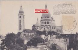 PARIS Basilique  Du  Sacré Coeur (pour Mde Vaille 72 Mamers) - Sacré Coeur