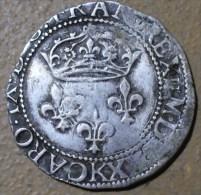 DOUBLE SOL PARISIS DE CHARLES IX 1570 K BORDEAUX TTB RARE A VOIR - 987-1789 Royal