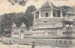CEYLON - KANDY - TEMPLE OF THE HOLY TOOTH - Sri Lanka (Ceylon)