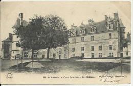64. - Amboise. - Cour Intérieure Du Château. - Amboise