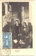 MONACO  ---  MONTE CARLO  --  CPA  -- SAINTE DEVOTE , Affranchie Du 10F. + 40 F Bleu-vert N° 272 Y. & T. - Palazzo Dei Principi