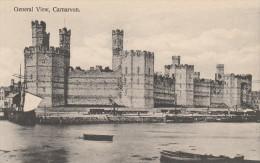 Post-Card - CARNARVON - General View. 1900-1910. Boats. Bateaux - Caernarvonshire