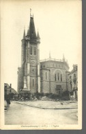 CHATEAUBOURG........l'Eglise....(dos Vert).....14 X 9. - Other Municipalities