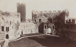 Post-Card - Carte- Photo Véritable - CARNARVON Castle - GLOSSY PHOTO SERIES - Caernarvonshire