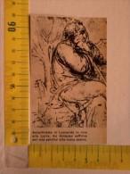 Da Riv. D´ Epoca -   L' Autoritratto Di Leonardo Da Vinci In Riva Alla Loira. - Historical Documents