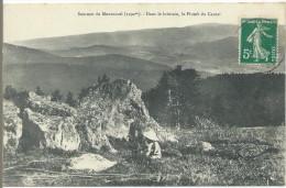 Sommet Du Montoncel (1292m) - Dans Le Lointain, Le Plomb Du Cantal - France
