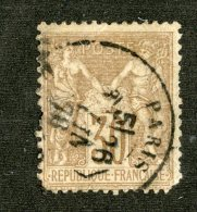 4953  France 1876  Yt.#69  (o) Fault Scott #73  Offers Welcome! - 1876-1898 Sage (Type II)