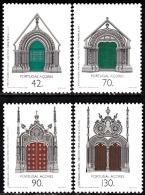 PORTUGAL - 1993 -  Arquitectura Do Período Dos Descobrimentos - Açores.  ( Série, 4 Valores )  ** MNH  Afinsa  Nº 2177/0 - 1910-... Republic