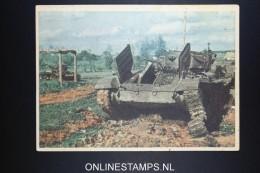 Deutsches Reich Abgeschossener Sowjetpanzer  Verlag Gutjahr, WWII Nr 249