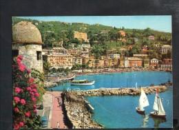 P552 Santa Margherita Ligure (Genova) - Scorcio Panoramico, Navi Ship Bateau - Fotoed. BRUNNER E CO. 401 051 DA FOT - Italia