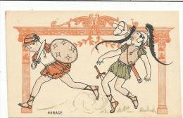 CHROMOS FARINE SALVY - HORACE. - Trade Cards