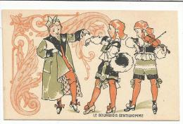 CHROMOS FARINE SALVY - LE BOURGEOIS GENTILHOMME. - Trade Cards