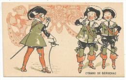 CHROMOS FARINE SALVY - CYRANO DE BERGERAC. - Trade Cards