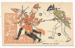 CHROMOS FARINE SALVY - FANFAN LA TULIPE. - Trade Cards