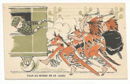 CHROMOS FARINE SALVY - TOUR DU MONDE EN 80 JOURS. - Trade Cards