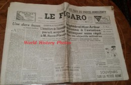 Journal Ancien - LE FIGARO - 11 Juillet 1950 -  Procés Mindszenty - Général Mac Arthur - Paris Dakar - Guerre De Corée - Newspapers