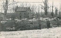 Cpa FRISE 80 Ruines De L' Eglise Et Maison Du Doyen - Frankreich