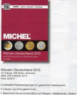 Deutschland Münzen MICHEL 2015 Neu 27€ D DR Ab 1871 III.Reich BRD Berlin DDR Numismatik Coin Catalogue 978-3-95402-107-9 - Creative Hobbies