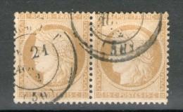 Paire N° 59°_i_cote 18.00 - 1871-1875 Ceres