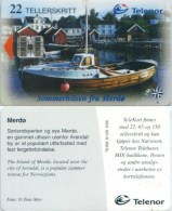 Telefonkarte Norwegen - Hafen - Merdo -  Schiff , Ship - N-126  6/98 - Norwegen