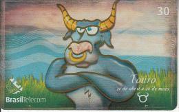 BRAZIL(Brasil Telecom) - Zodiac/Taurus, 05/01, Used - Brazil