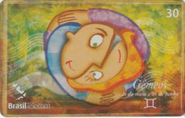 BRAZIL(Brasil Telecom) - Zodiac/Gemini, 06/01, Used - Brazil