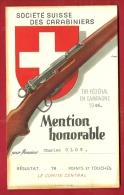 FTIR-08 MILITARIA Société Suisse Carabiniers,Tir Fédéral 1946.Mention Honorable  74 Points Et Touchés.Carabine. - Non Classés