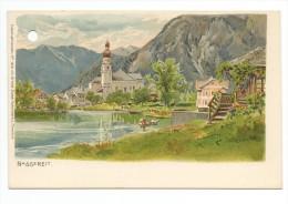 CPA Illustrateur Edward Theodore Compton:NASSEREIT-Lithographie - Imst