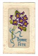 Carte Brodee: Bonne Fete (15-976) - Bestickt