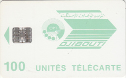 DJIBOUTI - Telecom Logo, Chip SC7, Used - Djibouti