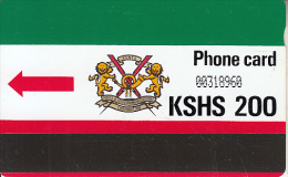 KENYA(Autelca) - K.P.T.C. Logo(with Notch) KSHS 200, Used - Kenia