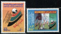 Soccer  1994 UAR Set Of 2 MNH**VF Football