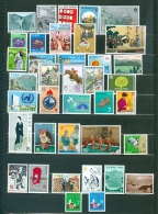 Japan Collection 38 Items With 12 Sets Paintings Views More MNH WYSIWYG A04s - Collections, Lots & Séries