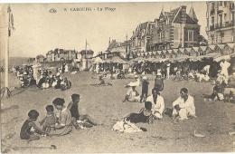 Cp, 14, Cabourg, La Plage, Voyagée 1934 - Cabourg