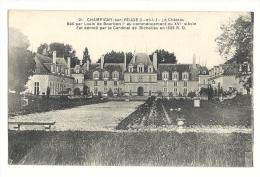 Cp, 37, Champigny-sur-Veude, Le Château - Champigny-sur-Veude