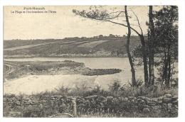 Cp, 56, Port Manec, La Plage Et L'embouchure De L'Aven - France