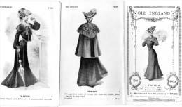 -  Très Beau Dépliant De Mode 8 Pages Bien Illustrées , été 1903 - OLD ENGLAND - 010 - Mode