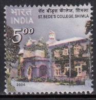 India MNH 2006, St. Bede´s College, Simla, Education - Inde