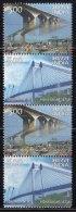 India MNH 2007,  Horizontal Se-tenent, Landmark Bridges, Bridge, Arcitecture - Nuovi