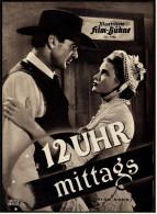 """Illustrierte Film-Bühne  -  """"12 Uhr Mittags"""" -  Mit Gary Cooper  -  Filmprogramm Nr. 1786 Von Ca. 1952 - Magazines"""