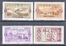 FRENCH  GRAN  LIBAN  C 9-12   * - Great Lebanon (1924-1945)