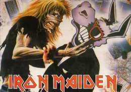 IRON MAIDEN  Ref 651 - Musique Et Musiciens